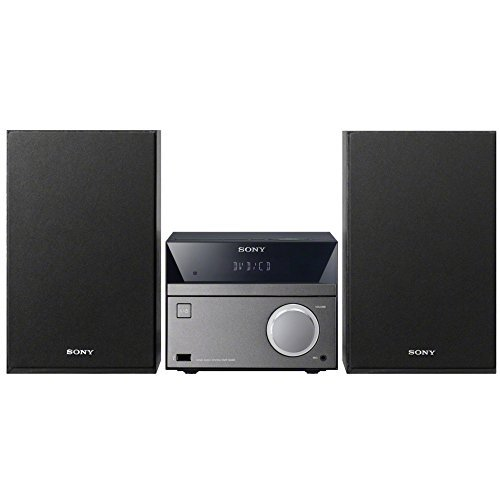 Sony Micro Hi-Fi Mega Bass Stereo Sound System with MP3 CD Player, Sleep Timer, Alarm Clock, USB & AUX Input, Remote Control (Sony Cd Player Remote compare prices)
