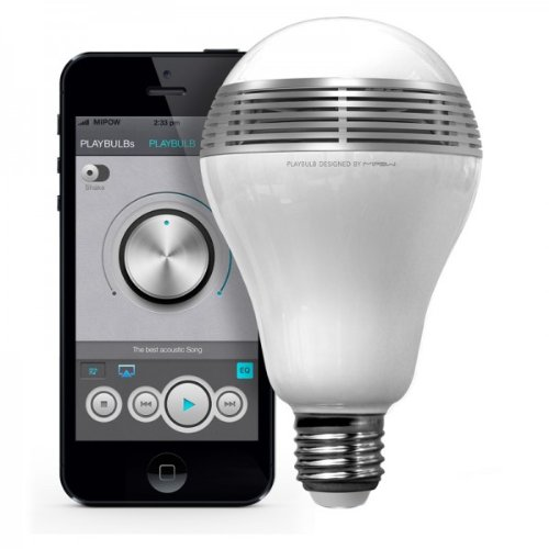 LED ライト にスピーカーを内蔵 PLAYBULB プレイバルブ