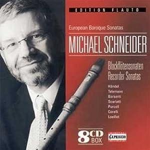 Michael Schneider, Georg Friedrich Händel, Georg Philipp Telemann