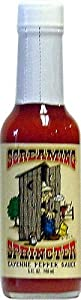 Screaming Sphincter Cayenne Pepper Hot Sauce 5 Fl Oz by AmericanSpice.com