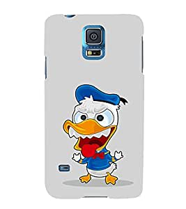 EPICCASE cranky duck Mobile Back Case Cover For Samsung Galaxy S5 Mini (Designer Case)