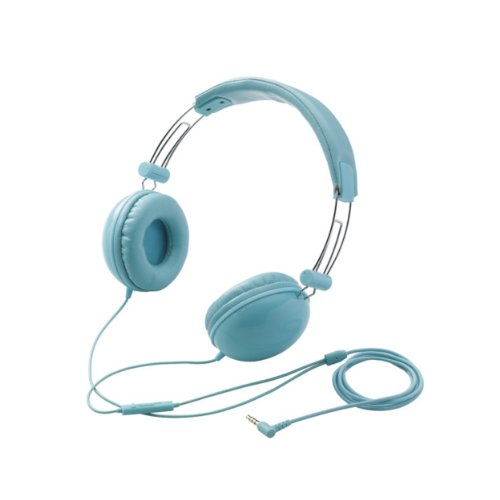 Metro66 Smartplus - Light Blue On-Ear Headphones