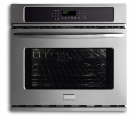 "Frigidaire Fgew2765Kf 27"" Single Electric Wall Oven With Quick Preheat And True Convection, Stainless Steel"