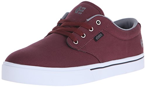 Etnies Men's Jameson 2 Eco Skateboarding Shoe, Red/Grey/Black, 9 M US