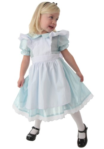 Little Girls' Toddler Alice Costume Infant (18 months) (Toddler Alice In Wonderland Costume)