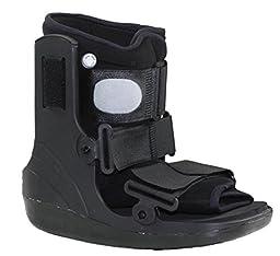 Air Cam Walker Fracture Cast Boot, Medical / Orthopedic Boot (Medium, Short)
