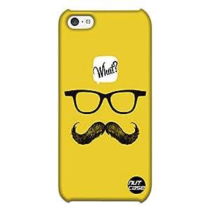 WHAT ?? - Nutcase Designer iPhone 5 C Case Cover