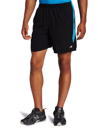 New Balance New Balance Men's 7-Inch Tempo Short (Kinetic Blue, Medium)