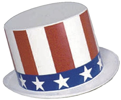 Rubie's Costume Child's Uncle Sam Plastic Top-Hat