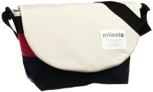 [ミレスト] milesto FLOPPY メッセンジャーS MLS066 WH (ホワイト)