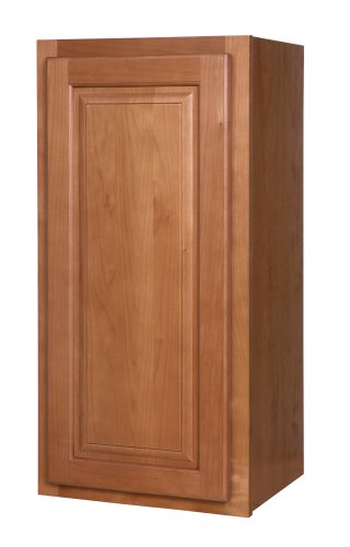 Kraftmaid kitchen cabinets all wood cabinetry w1530l wcn for 15 inch kitchen cabinets