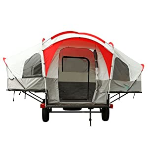 Lifetime Deluxe Tent Trailer Kit (Grey Red) by Lifetime