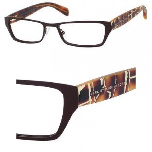 Marc By Marc Jacobs Marc by Marc Jacobs MMJ554 Eyeglasses-0YF4 Semi Matte Brown/Havana-50mm
