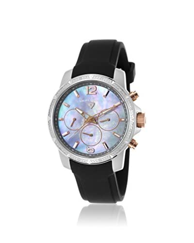 Swiss Legend Women's SL-16527SM-SR-014 Legasea Black/Mother of Pearl Stainless Steel Watch