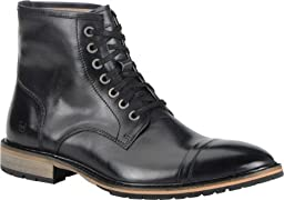 Marc New York by Andrew Marc Men\'s Norwood Boot,Black/Cymbal Leather,US 12 M