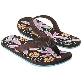 Image of Cobian THE FLORA Womens Sandals - Chocolate (B000JO1OOI)