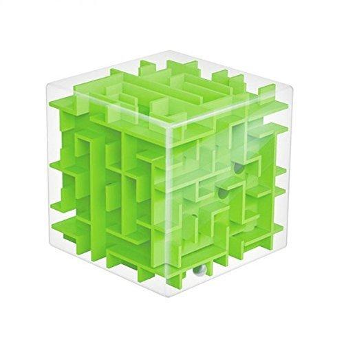 SainSmart Jr. Amaze Cube Maze (Green) (Miniature Super Glue compare prices)