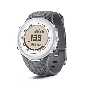 Suunto T1 Heart Rate Monitor and Fitness Trainer Watch (Grey)
