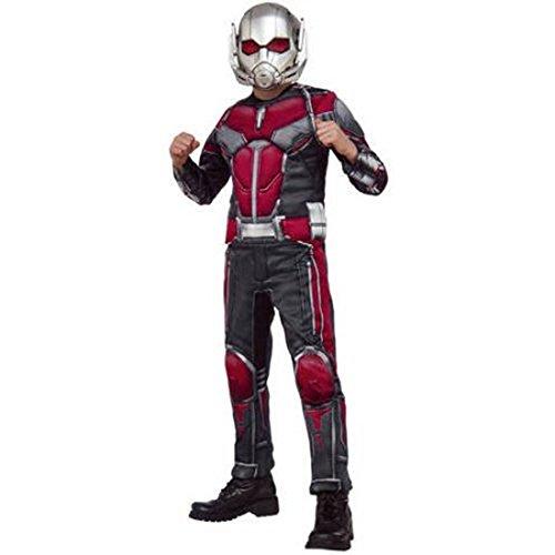 Rubies Little Boys Marvel Civil War Antman Costume Sz 8-10 Multicolored (Ant Man Costumes)