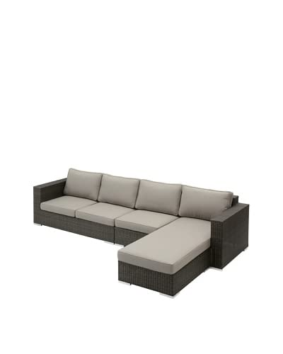 Jeffan Outdoor Group 2 Left-Side Sectional with Chaise, Grey