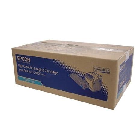 Epson C13S051126 Toner cyan pour Aculaser C 3800/3800 DN/DTN/N