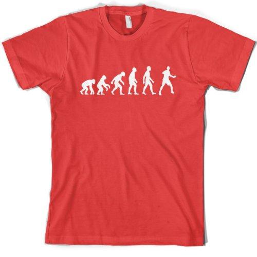 Evolution of Man - Mens Table Tennis T-Shirt - 7 Colours