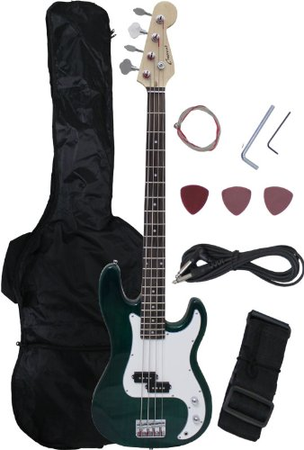 ELECTRIC BASS GUITAR GREENBURST