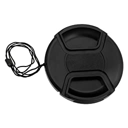 Fotodiox 77mm Inner-Pinch Lens Cap with Cap Keeper