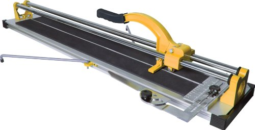 QEP 10900 35-Inch Manual Tile Cutter with Tungsten Carbide Scoring Wheel for Porcelain and Ceramic Tiles