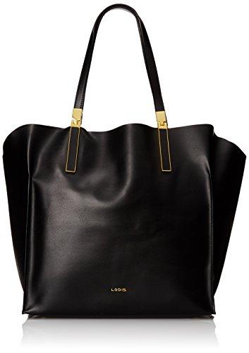 lodis-blair-unlined-lucia-travel-satchel-travel-tote-black-cobalt-one-size