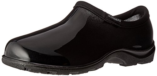 Sloggers Rain and Garden Shoe with All Day Comfort Insoles, Basic Black, Wo's size 8, Style 5100BK08
