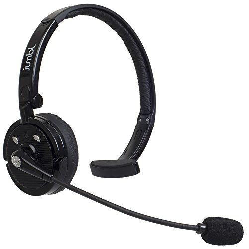 jumbl over the head bluetooth wireless headset cell phone quality surround sound. Black Bedroom Furniture Sets. Home Design Ideas