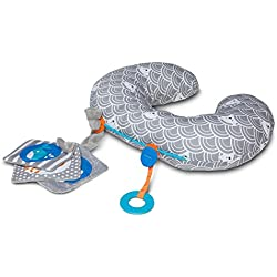 Boppy Tummy Time Play Mat, Sea Explorers/Gray