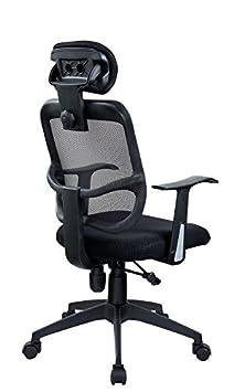 2 duhome 0391 fauteuil de bureau bureau bascule dossier filet filet ergonomique. Black Bedroom Furniture Sets. Home Design Ideas