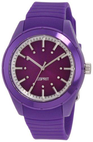 ESPRIT Mujer ES900642008 Play Solid Purple Analogique Reloj