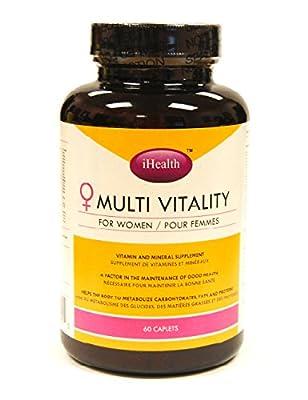 I-HEALTH Multi-Vitamin Women, 60 Caps, 1 Count