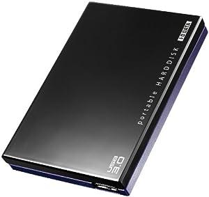 I-O DATA USB3.0対応 レグザ・アクオス録画対応ポータブルハードディスク「カクうす」 1.0TB ブラック HDPE-UT1.0 [フラストレーションフリーパッケージ(FFP)]