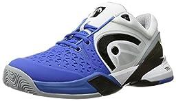 Head Men\'s Revolt Pro Tennis Shoe, Blue/White, 10.5 M US