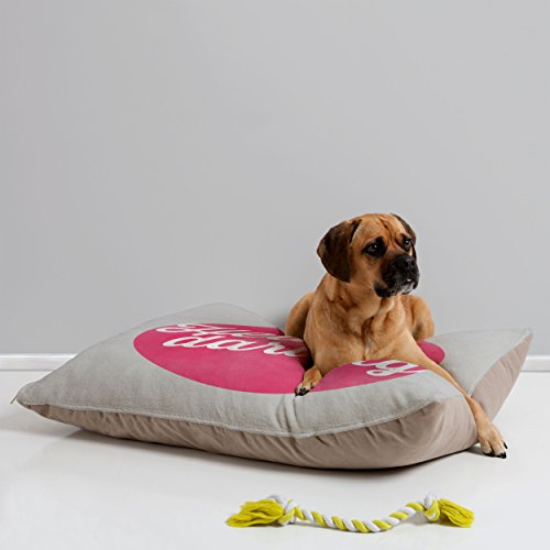 Deny Designs Allyson Johnson Hello Darling Pet Bed, 40 By 30-Inch front-42049