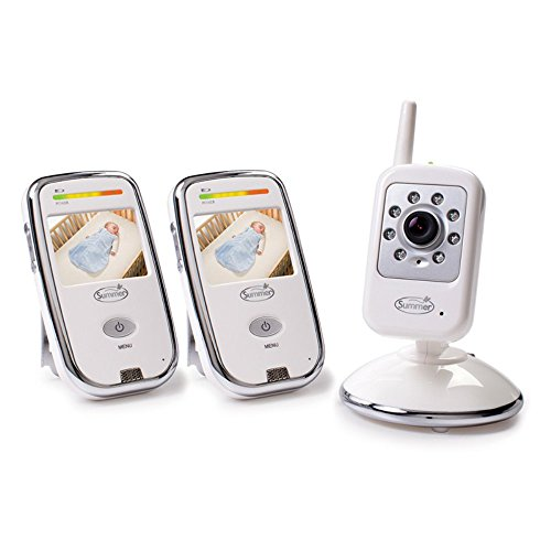 Summer Infant Dual Coverage Digital Color Video Monitor Set - 1