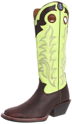 Tony Lama Boots Men's RR1006 Boot,Auburn Maverick/Prairie Baron Calf,10 D US
