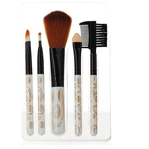 EYX Formula 5 Pcs Pro Makeup Brushes Set Kit with Powder Eyebrow Eyeshadow brush, Blush Brush Makeup Tool for Face Painting (Dior Bush compare prices)