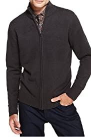 Autograph Funnel Neck Zip Through Cardigan with Wool [T30-1276A-S]