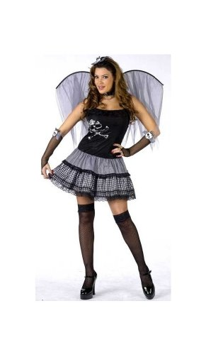 Funky Punk Fairy Costume - Adult Costume