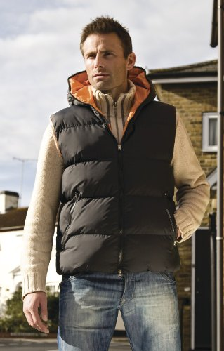 Mens Result Dax Urban Outdoor Gilet XX-Large Black