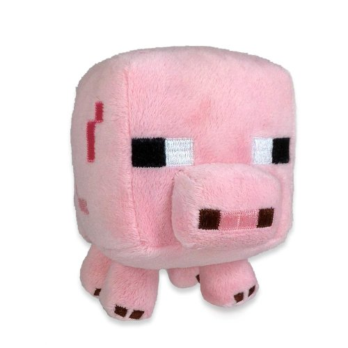Minecraft 7 Animal Plush Pig Mooshroom Cow Set Of 2 From