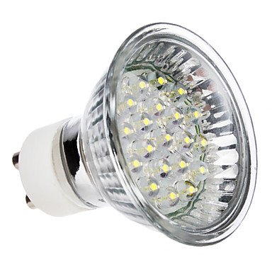 Luo Gu10 1-1.2W 20-Led 55-65Lm 6000-7000K Cool White Light Led Spot Bulb (110V)