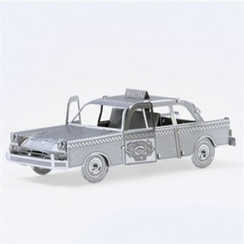 Fascinations Metal Earth 3D Metal Model Kits, Checker Cab