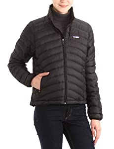patagonia Women's Down Jacket Large Black