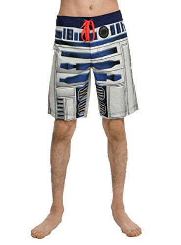 Star Wars R2-D2 Guys Swim Trunks